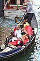 kourtney kardashian travis barker gondola ride pics 10