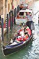 kourtney kardashian travis barker gondola ride pics 13