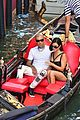 kourtney kardashian travis barker gondola ride pics 15