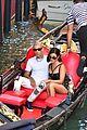kourtney kardashian travis barker gondola ride pics 16