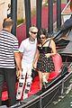 kourtney kardashian travis barker gondola ride pics 17