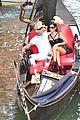 kourtney kardashian travis barker gondola ride pics 21