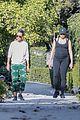 pregnant freida pinto on a walk 25