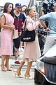 sarah jessica parker coordinates pink kristin davis just like that set 14