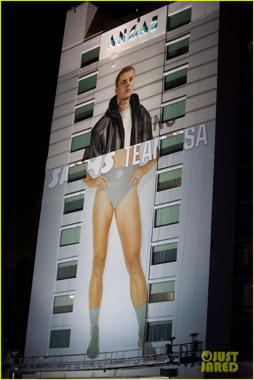 justin bieber wears kim kardashians skims in billboard mishap 014613136