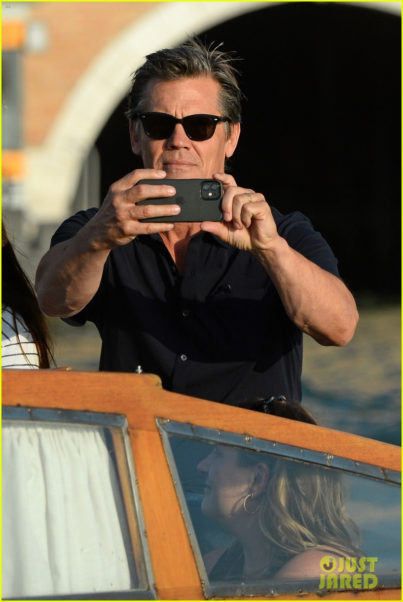 josh brolin boards water taxi to sightsee in venice 034617248