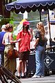 lily rose depp margaret qualley grab lunch in nyc 11