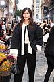 gemma chan mindy kaling emily rata more tory burch front row 03