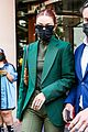 gigi hadid 50 shades of green day out in paris 07