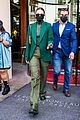 gigi hadid 50 shades of green day out in paris 11