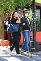 donald glover rare day out with michelle white in nyc 06