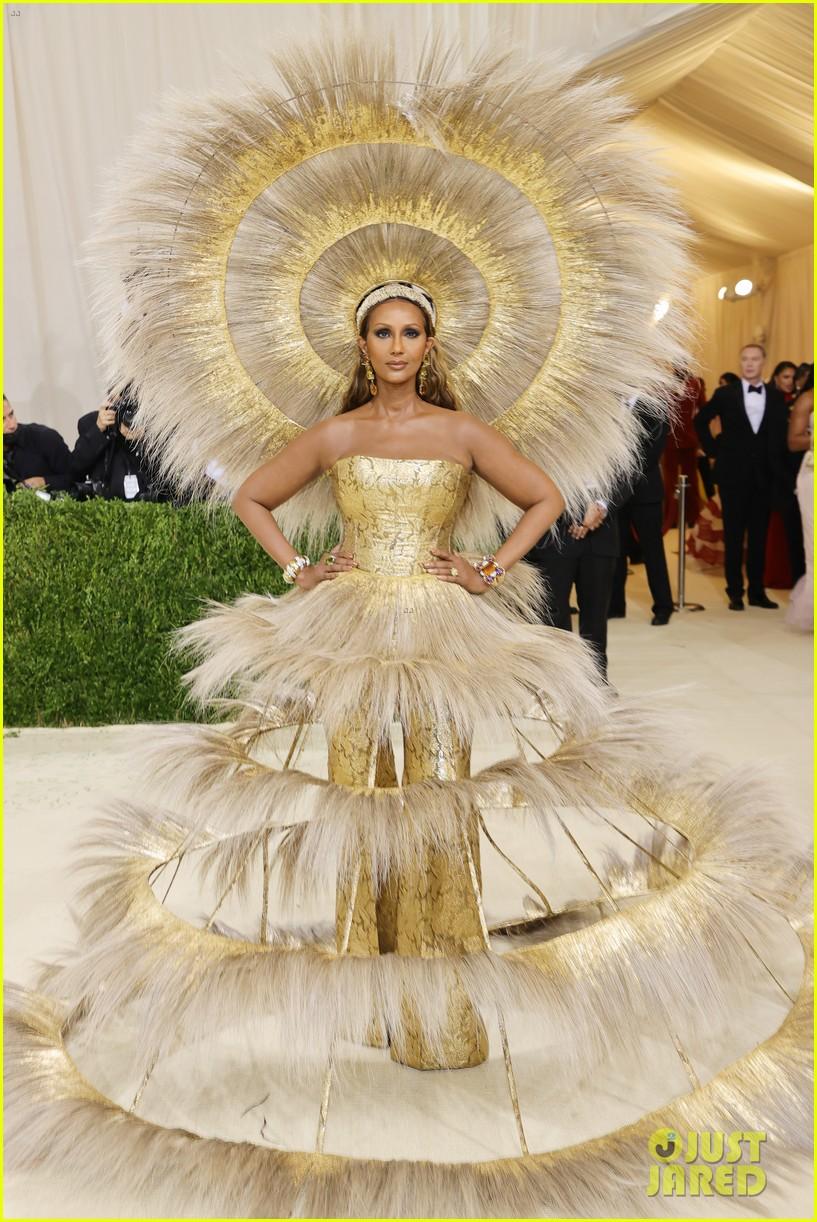 iman sunshine dress met gala 134622930