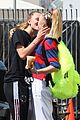 jojo siwa gets a kiss from girlfriend kylie prew after dance rehearsals 05