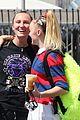 jojo siwa gets a kiss from girlfriend kylie prew after dance rehearsals 07