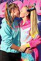 jojo siwa kisses kylie prew j team premiere 27