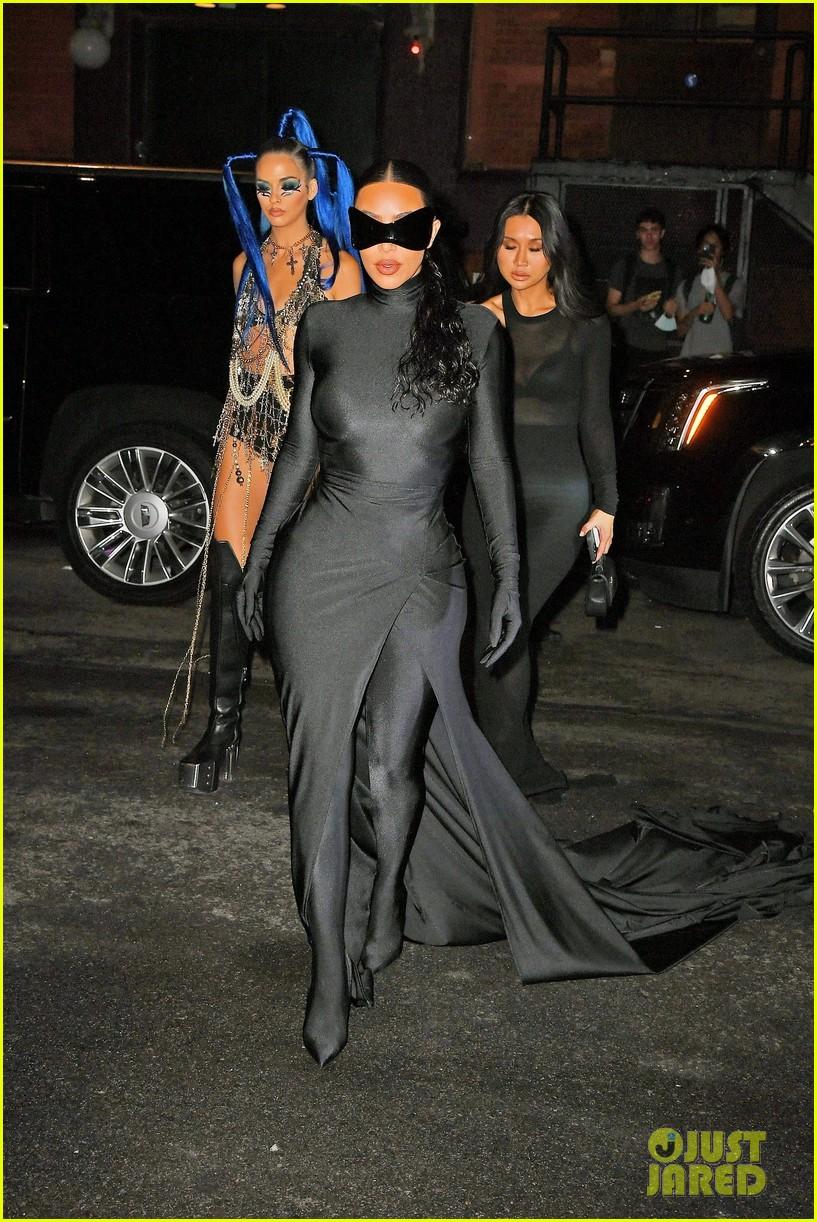 kim kardashian met gala after party 094624142