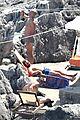 chris pine toned back muscles works on tan amalfi coast italy 14