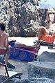 chris pine toned back muscles works on tan amalfi coast italy 19