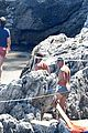 chris pine toned back muscles works on tan amalfi coast italy 30