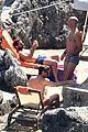 chris pine toned back muscles works on tan amalfi coast italy 35