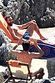 chris pine toned back muscles works on tan amalfi coast italy 37