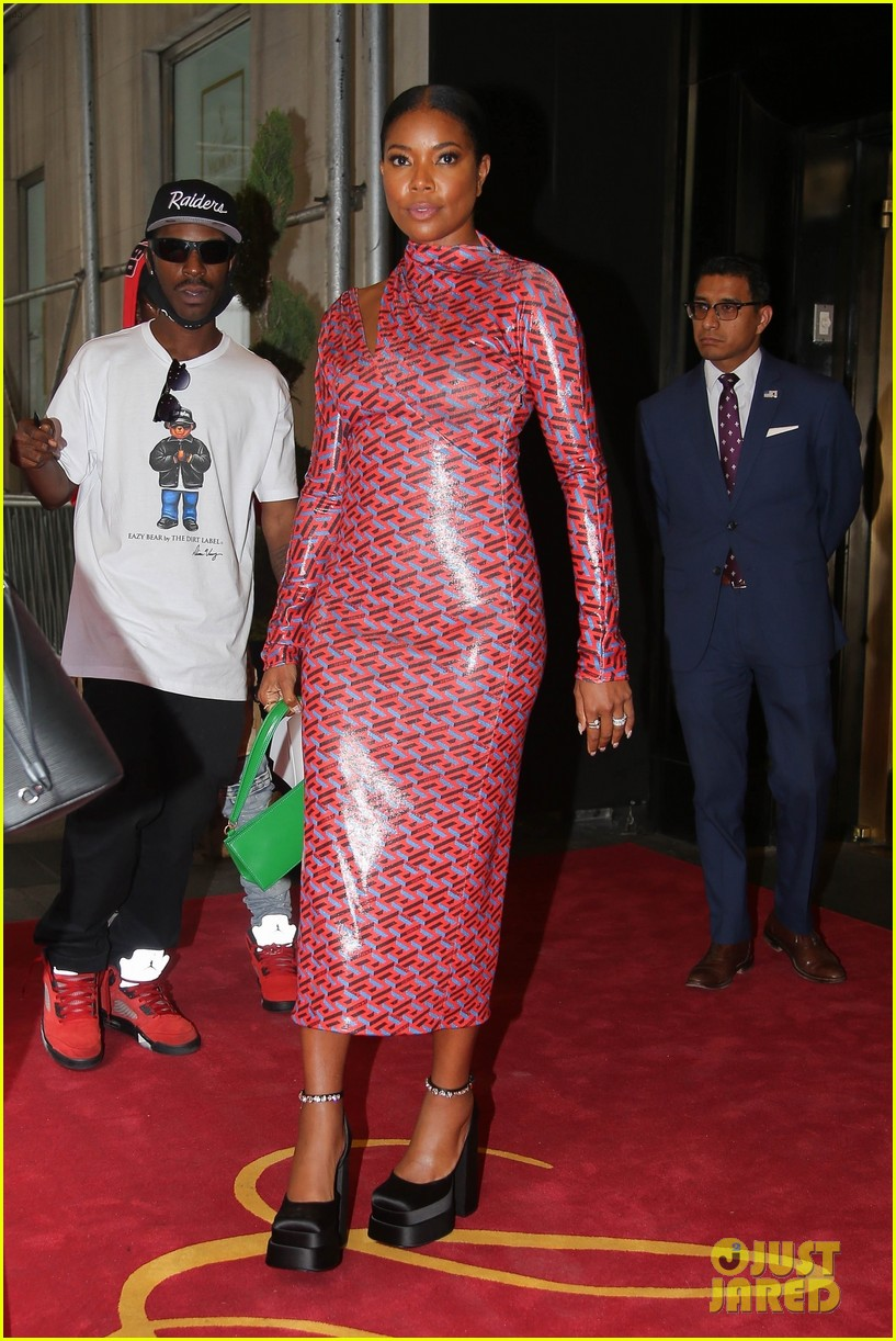 gabrielle union pink dress bring on quotes 024624766