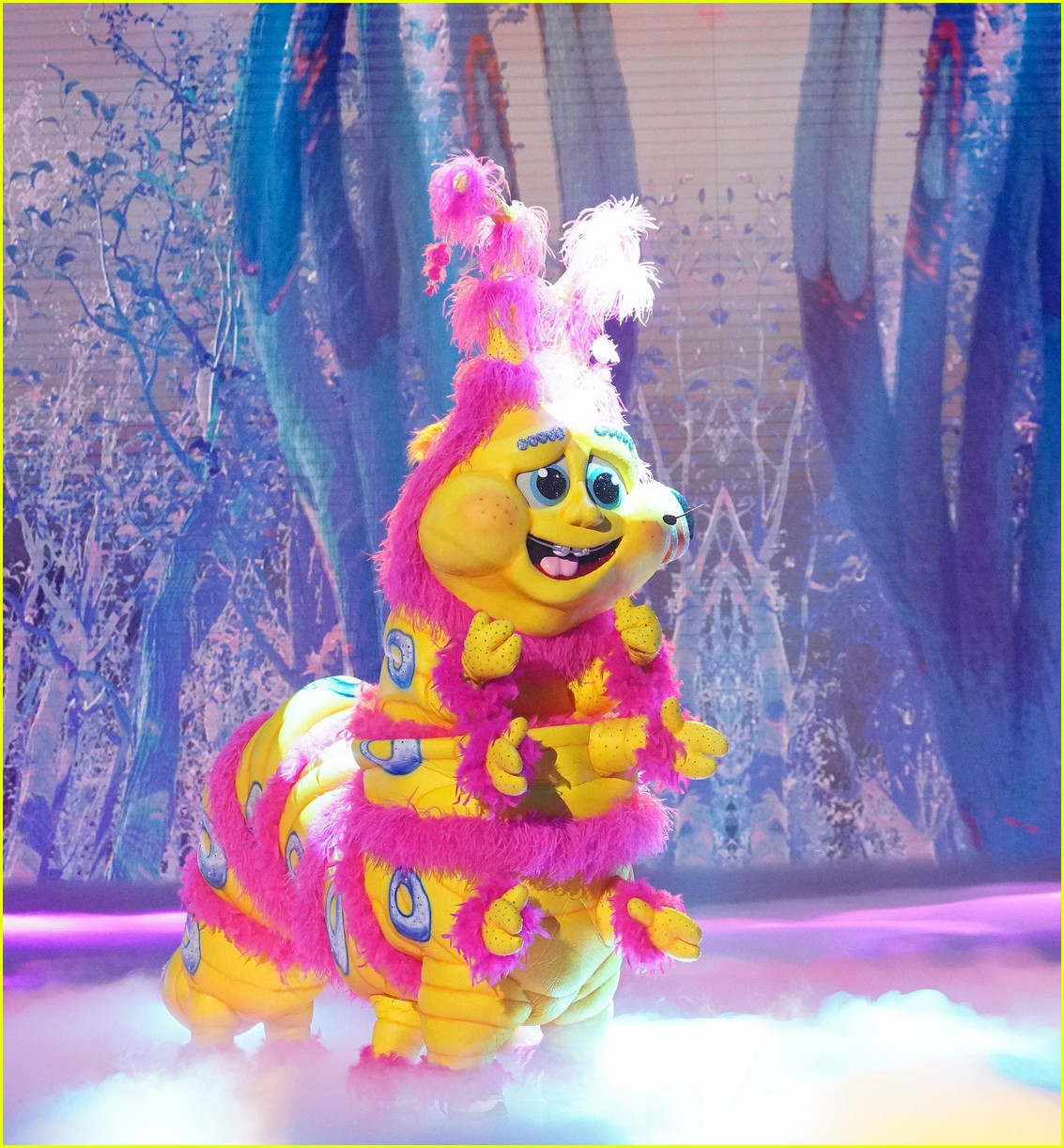 caterpillar performs on the masked singer 054643522