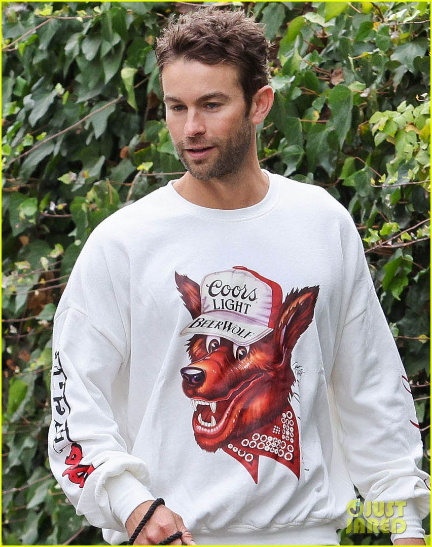 chace crawford morning walk with dog shiner 064643739