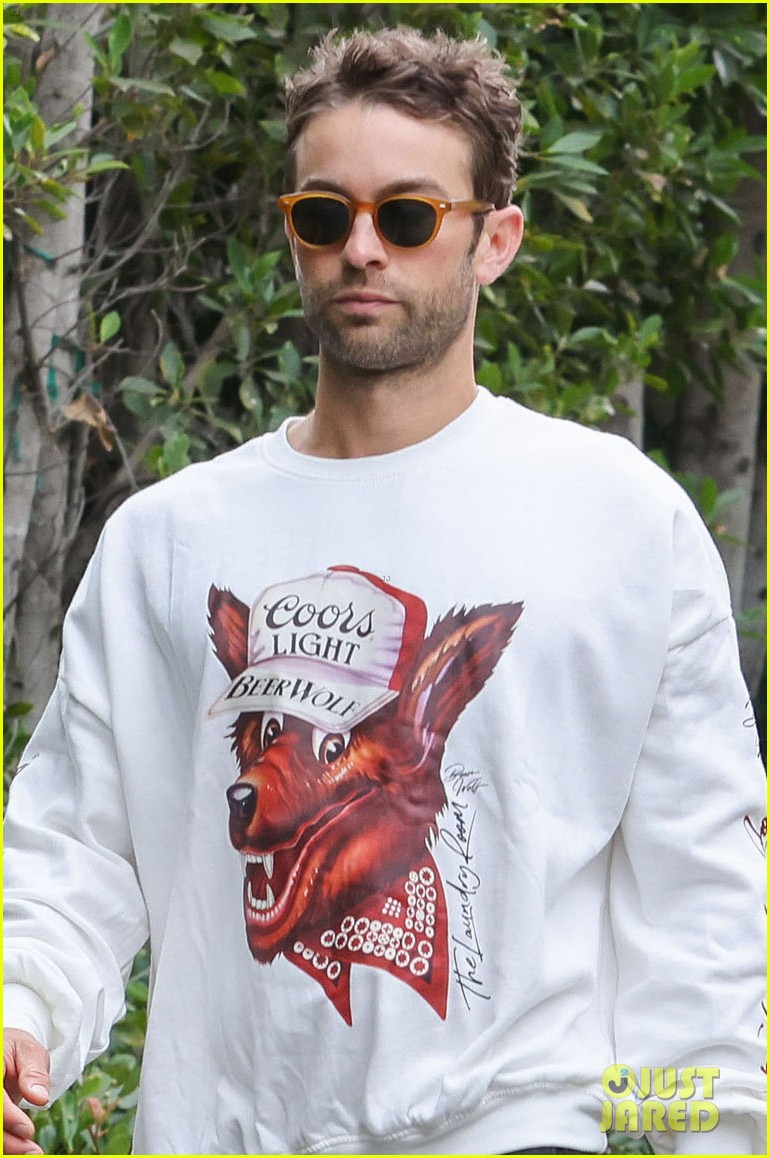 chace crawford morning walk with dog shiner 084643741