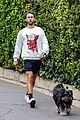 chace crawford morning walk with dog shiner 01