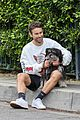 chace crawford morning walk with dog shiner 03