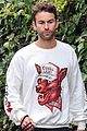 chace crawford morning walk with dog shiner 04