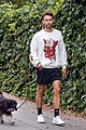 chace crawford morning walk with dog shiner 07