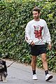 chace crawford morning walk with dog shiner 09