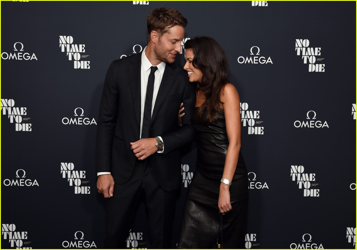 justin hartley alessandra ambrosio no time to die screening 044640786