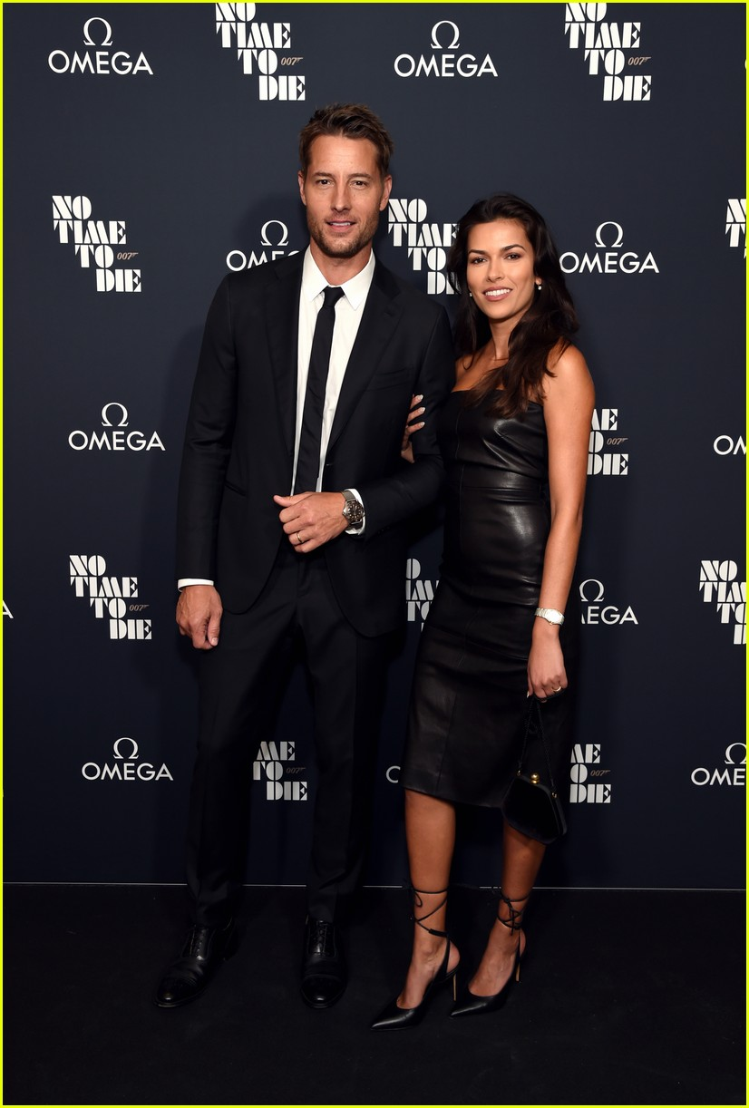 justin hartley alessandra ambrosio no time to die screening 054640787