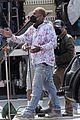 jonah hill starts filming lauren london kenya barris project 62