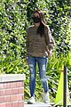mila kunis sweater weather for afternoon meeting 05