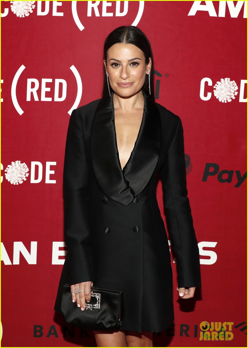 beanie feldstein lea michele code red event after fg comments 014643914