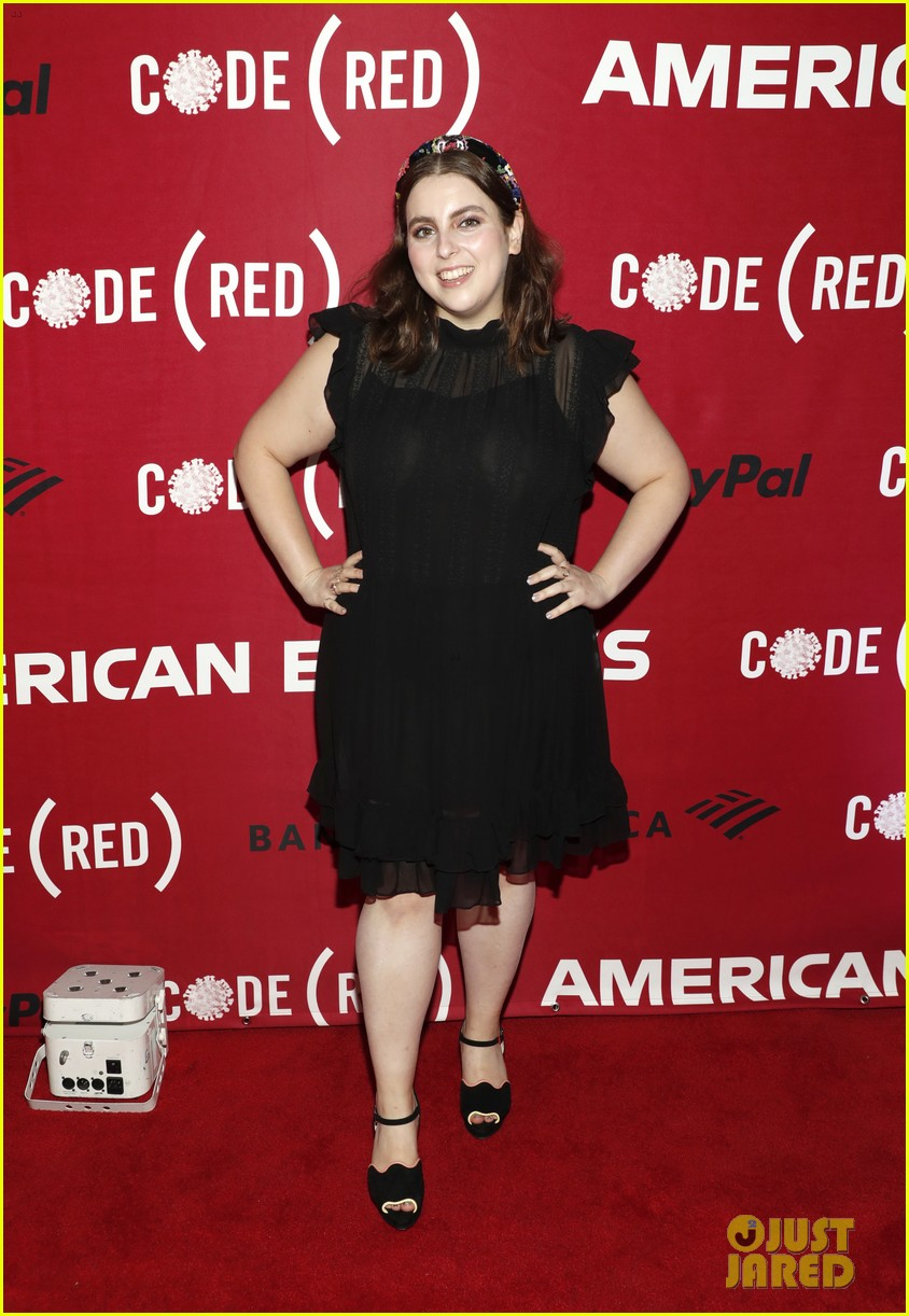 beanie feldstein lea michele code red event after fg comments 034643916