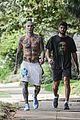 adam levine shirtless after a workout 62