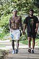 adam levine shirtless after a workout 64
