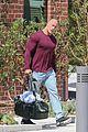 dwayne johnson heads home after morning workout 06