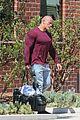 dwayne johnson heads home after morning workout 12