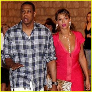 Beyonce & Jay-Z: Croatia Couple