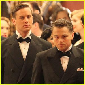 Leonardo DiCaprio: 'J. Edgar' Filming with Armie Hammer