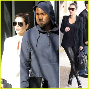 Kim Kardashian & Kanye West: Big Apple Brunch!