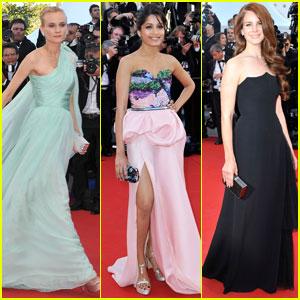 Freida Pinto & Diane Kruger: Cannes Opening Ceremony!