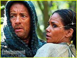 Halle Berry & Tom Hanks in 'Cloud Atlas' - First Look!