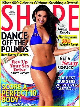 Jordin Sparks Shows Off Bikini Body on 'Shape' Magazine
